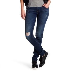 Hudson | Distressed Colins Flap Skinny Jeans 31